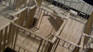 8 - Building Popsicle Stick House