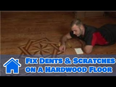 Flooring Tips How To Fix Dents Amp Scratches On A Hardwood