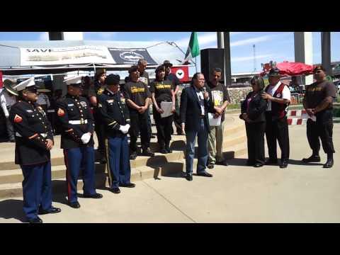 The Valenzuela Brothers at the César Chávez Celebration, March 25, 2012, El Paso, TX