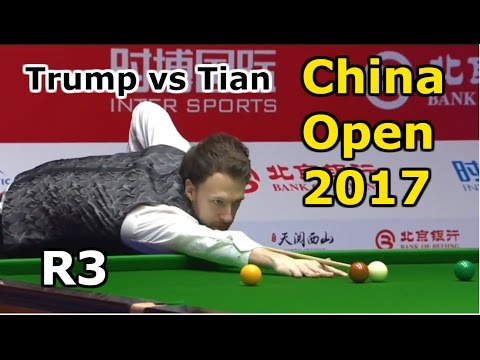 Snooker China open 2017  R3 Trump vs Tian