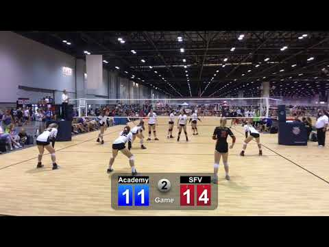 AAU SFV vs Academy Game 2