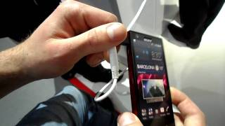 Sony Xperia P im Hands On