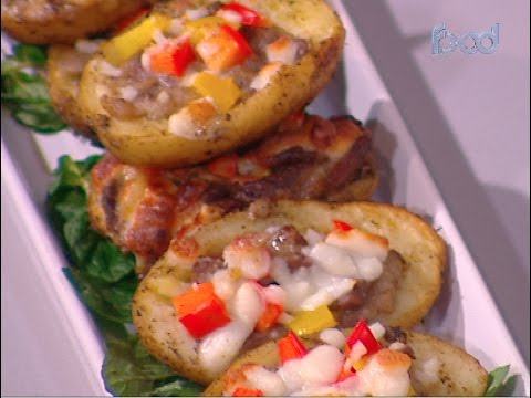 قوارب البطاطس بشرائح اللحم على طريقة الشيف #غفران_كيالي من برنامج #هيك_نطبخ #فوود