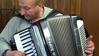 Under Paris Skies played on a Paolo Soprani Musette Accordion
