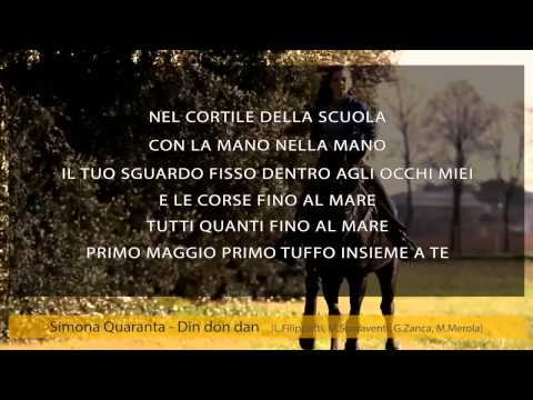 Simona Quaranta – Din don dan (karaoke+lyrics)