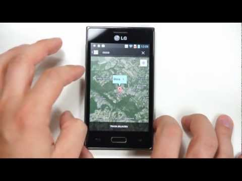 LG E610 Optimus (Swift) L5 - Internet. GPS - part 3