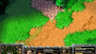WarCraft 3 - WC015 - Majestic (Hu) vs Grubby (Orc) on Twisted Meadows