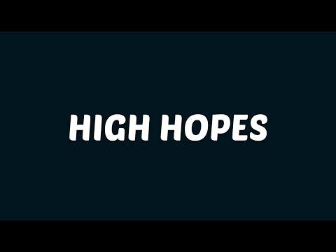 Panic At The Disco High Hopes (Lyrics/Lyrics Video) (With Audio)