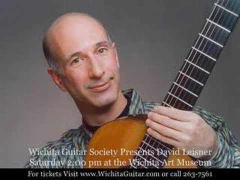 David Leisner: Concert trailer