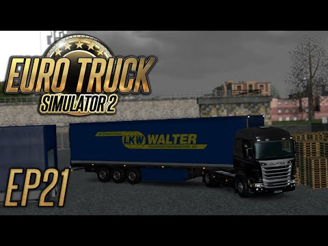 Euro Truck Simulator 2: Speed Limit Confusion - Episode 21