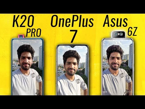 Redmi K20 Pro vs OnePlus 7 vs Asus 6Z ULTIMATE CAMERA TEST!🔥