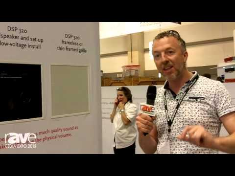 CEDIA 2015: Meridian Previews Sooloos, DSP 320 In-Wall/Ceiling Speaker, Control System Integration