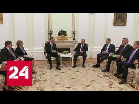 Путин и Додон надеются на восстановление партнерских отношений