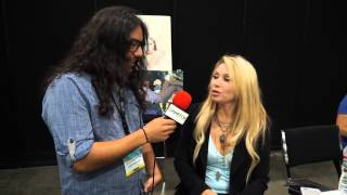 Comikaze 2013 - A Chat with E.G. Daily