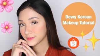 KOREAN MAKEUP TUTORIAL (DEWY LOOK) in Bahasa | STEFANYTALITA
