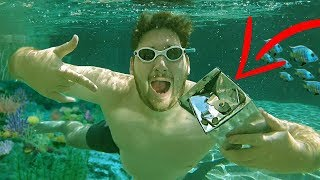 FOUND A SAFE UNDERWATER 😱 // MONEY INSIDE 🤑 SCUBA DIVING FOR TREASURE