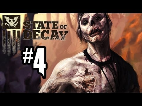 State of Decay Gameplay Walkthrough - Part 4 - WHERE IS MAYA?!? (Xbox 360 Gameplay HD)