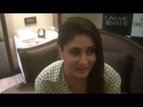 Kareena Kapoor Khan Talks About Manish Malhotra at LFW Winter Festive 2014