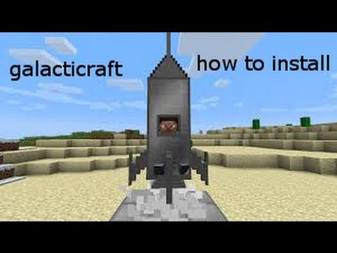 Minecraft how to install galacticraft 1.5.1 w/downloads