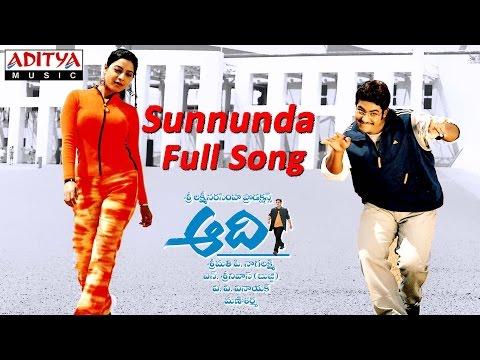 Sunnunda Full Song ll Aadi Movie ll Jr.Ntr, Keerthi Chawla