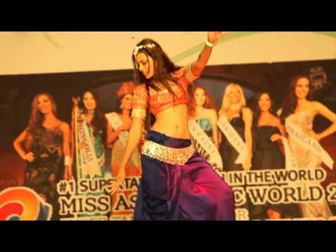 Miss India Srishti Rana Talent Show of Miss Asia Pacific World 2013