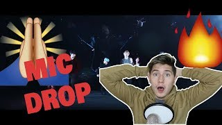 (non-KPOP fan reacts) BTS (방탄소년단) 'MIC Drop (Steve Aoki Remix)' Official MV REACTION