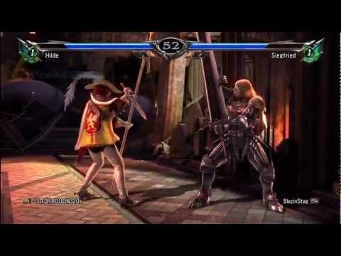 SoulCalibur V (Online) Match #120 Hilde Vs. Siegfried