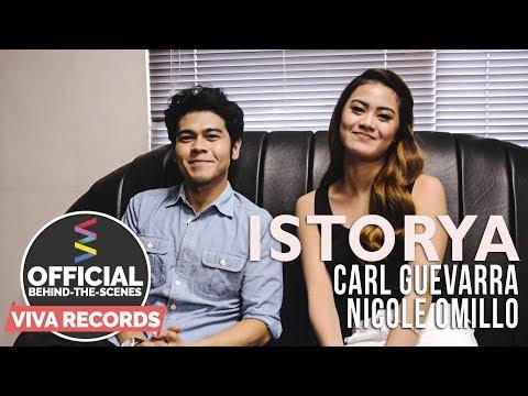 Carl Guevarra & Nicole Omillo — Istorya [Official Behind-The-Scenes]