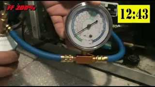 Fixing refrigerator that not cooling enough by recharging R-134a Freon DIY