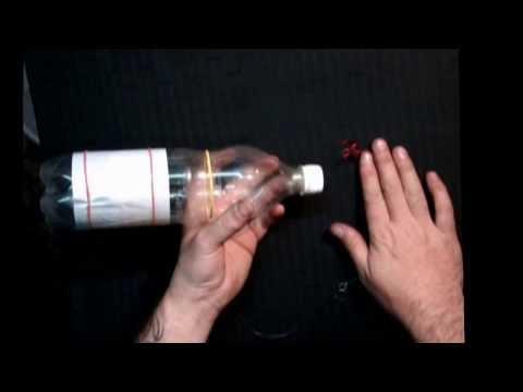 видео ловля на пластиковые бутылки для