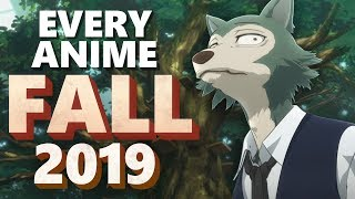 Every Anime You Should Be Watching from Fall 2019