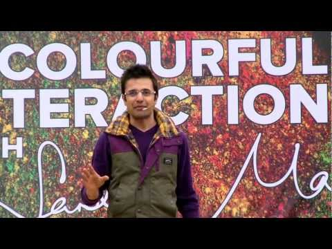 A Colourful Interaction: Sandeep Maheshwari's Lively Q&a Session In Rain (in Hindi) video