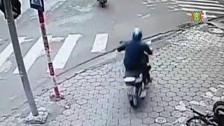 BẢN TIN 141 ngày 02/04/2019 | Trộm xe máy táo tợn giữa phố đông người ở Hà Nội