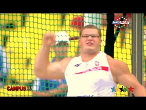 FISU Athlete, Pawel FAJDEK, Hammer Throw - 40th CAMPUS Sport TV Show - FISU 2015