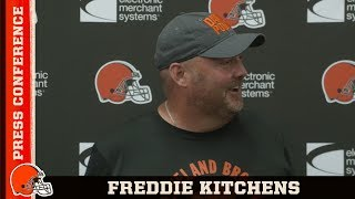 Freddie Kitchens Plans to Play Starters Preseason Wk 3 vs. Bucs | Cleveland Browns
