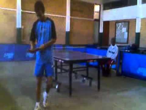 tennis de table malgache lino vs safidy