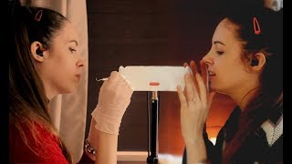 EXTREMELY Tingly TWIN Ear Cleaning ASMR - Brushing, Picking, Bottle ...