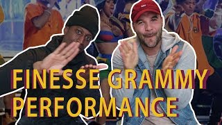 Download Lagu FINESSE GRAMMY PERFORMANCE - Reactin' a fool Gratis STAFABAND
