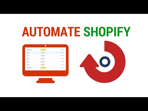 How To Automate Any Shopify Order For Free