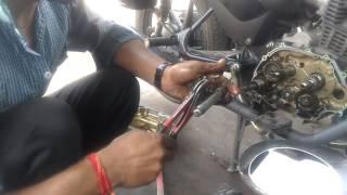Honda Shine change Gear Spring