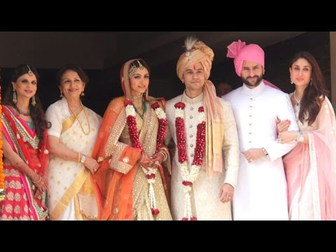 Full Video - Kunal Khemu & Soha Ali Khan's WEDDING RECEPTION | Shahrukh, Salman, Saif, Kareena