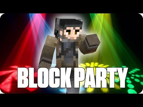 ¡LA LEYENDA DEL BAILE BLOCK PARTY Minecraft