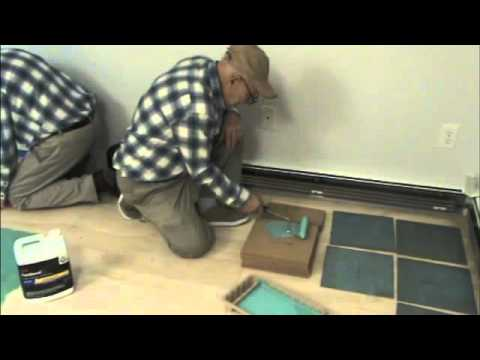 How To Install Lock And Fold Cork Flooring | DIY Reviews!