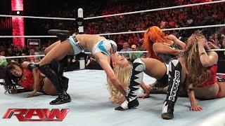 NXT Divas emerge to challenge Team Bella: Raw, July 13, 2015