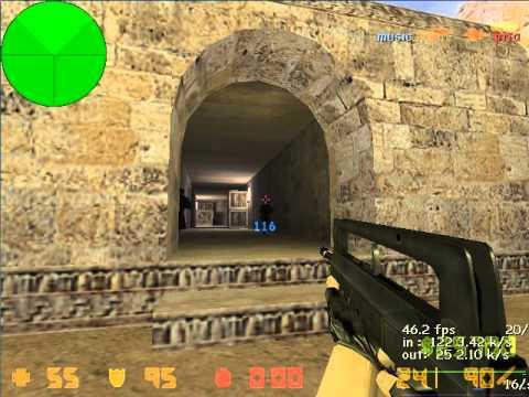 CS 1.6 - Играю CSDM с ботами Игры - YouTube