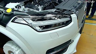Volvo XC90 Production – Manufacturing and Assembly