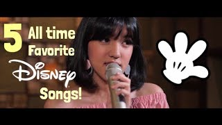 5 all time favorite Disney Songs! (cover)