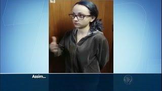 Mãe relata aos policias como agredia filha de quatro meses