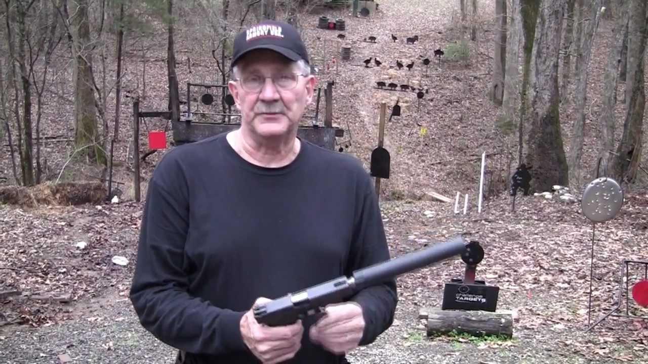 Suppressed Glock 21 - YouTube