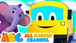 Wheels on the Bus | All Babies Channel | Nursery Rhymes & Kids Songs